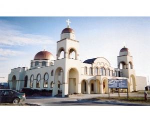 Domes - Prophet Elias Greek Orthodox Church