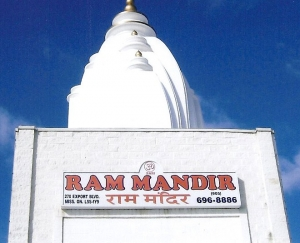 Steeples - Turrets - Shri Ram Mandir Hindu Temple
