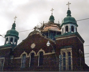Domes - St. Volodomyr's