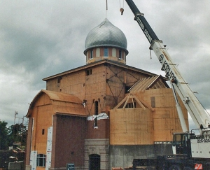 Domes - St. Xenia Orthodox Church, Kanata